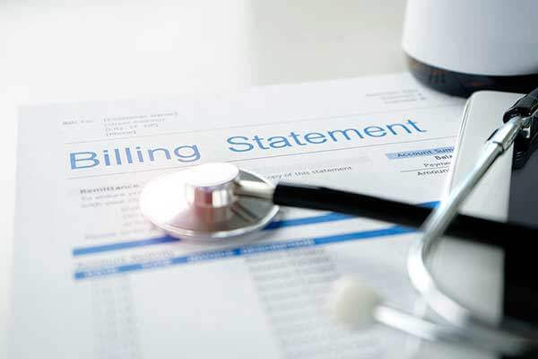 Health care billing statement